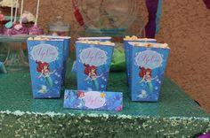 Le 6e anniversaire d'Iris sur le thème de la Petite Sirène