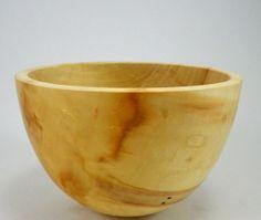 Snack Bowl in Box Elder Wood