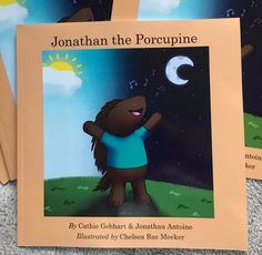 Children's book Jonathan the Porcupine inspired by Jonathan Antoine