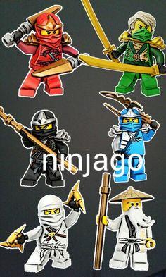 Ayo udh main ninjago belum ayo main seru tau