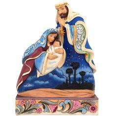 And You Shall Call Him Emmanuel Jim Shore Holy Family Figure $75.00