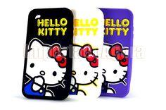 Capa em Silicone - Hello Kitty iPhone 4 4S - Para mais informações clique na imagem :)