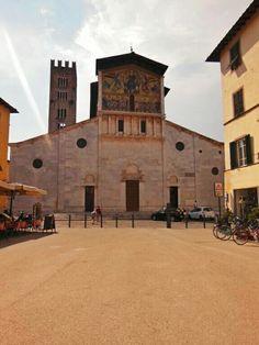 La Iglesia de San Frediano en #Lucca. #EuropeosViajeros #Italia #Italy #Europe #Europa #Travel #Viaje #Turismo #Tourism #Toscana #Tuscany