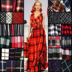 New England plaid cloth material color stripe Jacquard coat dress clothing wholesale high-grade fabrics