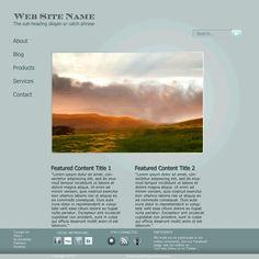 Tutorial: Add finishing touches to minimalist web design using Photoshop