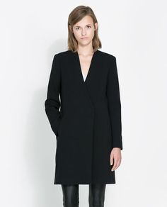 Image 2 of DOUBLE-BREASTED COAT from Zara