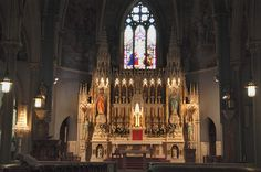 Catholic Churches - Saint Pauls on Nassau St. Princeton Architecture, Trinity Church Boston, Jersey Girl, Famous Places, Barcelona Cathedral, Catholic Churches, Nassau, Cathedrals, Massachusetts