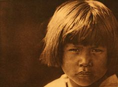American Indians : A Comanche Girl.