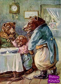 Mistérios Fantásticos: Cachinhos Dourados e os Três Ursos