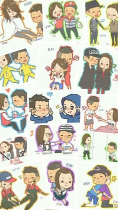Once upon a time, there's a couple called Monday Couple that runs, broke up, rekindle, fell in love... Maybe not in reality, but for me, they are....  Kang Gary ❤ Song Ji Hyo