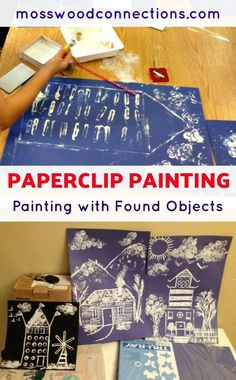 Paperclip Painting A