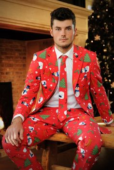 Ugly Christmas Suits For When A Sweater Just Doesn't Cut It ...