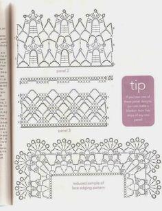 35 Super Ideas For Crochet Baby Blanket Diagram Libraries Filet Crochet, Crochet Mittens, Crochet Borders, Crochet Stitches Patterns, Crochet Bebe, Crochet Edgings, Crochet Poppy Free Pattern, Crochet Collar Pattern, Crochet Basket Pattern