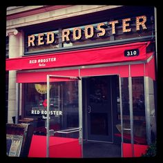 I was personally invited to by Marcus Samuelson to dine at his establishment when I visit New York.  Rubyd -  Red Rooster | Harlem | New York