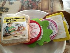 Book Report Sandwich! The 3rd graders did an excellent job getting ...
