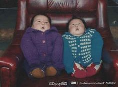 DOUBLE baby immobilisation technique.   14 Awkward Childhood Photos From China That Are Awkwarder Than Your Awkward Childhood Photos