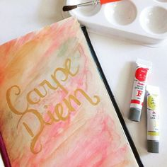 🎊Vamo aproveitar a vida! 🎊 #inktober #communityfirst #achadosdasemana #lettering #primeirorabisco #togetherweltter #handwritting #watercolor #aquarela #letters