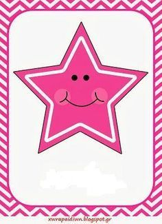 Pink stars clipart star clip art image present Mathematics Geometry, Teaching Geometry, Teaching Shapes, Shapes Flashcards, Flashcards For Kids, Star Clipart, Free Clipart Images, All About Me Preschool, Math For Kids