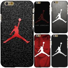 69929ee11ff Fly Air Man NBA Brand Michael Jordan 23 Case Cover for iPhone 4S 5 5S 5C
