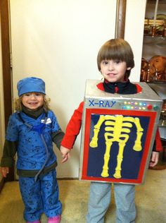 DIY X-RAY COSTUME