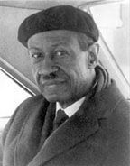 James Amos Porter (December 22, 1905 - February 28, 1970) was on the faculty of Howard University for over 40 years and was a pioneer in establishing the field of African-American art history. Modern Negro Art, published in 1943, was the first comprehensive study in the United States of African-American art. He also included works from Cuba, Haiti, and Africa in his studies. #TodayInBlackHistory