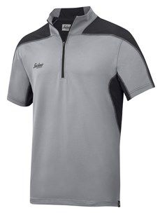 For cutting-edge ventilation, wear this A.V.S. polo shirt with advanced body-mapped design. Combining pioneering technology in moisture transport with quick-drying, high-stretch and UV-protective fabric for superior fresh and dry working comfort. Helps you to keep it cool when it's hot. Also available in red. - Snickers Workwear Artnr. 2716