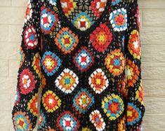 Fabulous Crochet a Little Black Crochet Dress Ideas. Georgeous Crochet a Little Black Crochet Dress Ideas. Crochet Bodycon Dresses, Black Crochet Dress, Crochet Tank, Crochet Blouse, Crochet Poncho, Tops Manga Larga, Style Feminin, Crochet Mandala, Crochet Granny