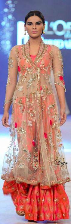 L'Oréal Paris Bridal Week 2014 Indian Bridal Wear, Asian Bridal, Saris, Pakistani Outfits, Indian Outfits, Ethnic Fashion, Asian Fashion, Misha Lakhani, Indian Couture