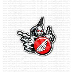 SHELBY left Pin up gauche Sticker