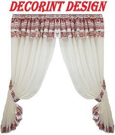 Valance Curtains, Channel, Design, Home Decor, Decoration Home, Room Decor, Home Interior Design, Valence Curtains