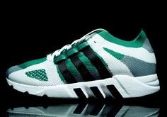 After a solid round of vintage EQT models revamped with Boost sole units, adidas Originals is now combining the old with the new in another way. This time it's the upper that gets a modern upgrade, with a Primeknit construction … Continue reading →