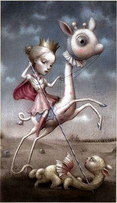Strength - Nicoletta Ceccoli Tarot