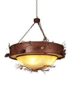 Ranch Style Pendant Light for Rustic Decoration