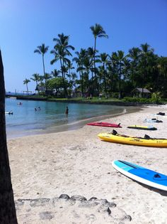 Beach Kailua Kona Hawaii