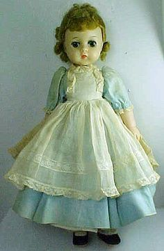 Madame Alexander Little Women Amy Doll Circa 1950's. I still have this doll.