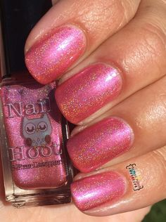 Bath And Beauty - Numbers Holo'd By Nail Hoot (Holographic Trio)