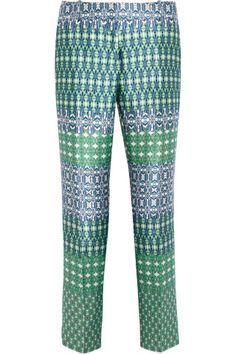 J.Crew Café printed wool and silk-blend Capri pants, How would you style these? http://keep.com/jcrew-cafe-printed-wool-and-silk-blend-capri-pants-50-at-the-outnetcom-by-corri-mcfadden/k/zzsReEABLk/