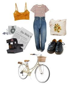 Day at the park by yanni-loenders on Polyvore featuring polyvore, fashion, style, Levi's, Intimately Free People, Dr. Martens, J.Crew and clothing