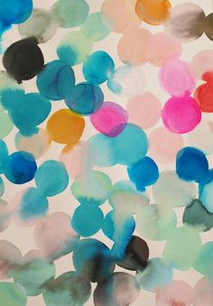 watercolour globos