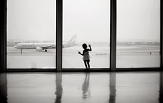 i do this while waiting for my flights. watching planes take off will always leave me breathless.