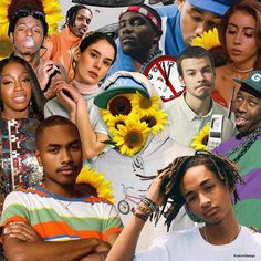 Flower Boy  An art piece dedicated to all those who made one of my favourite albums Flower Boy by Tyler the Creator possible! I tried something different today similar to my Irish style collage. Ill definitely do more in the future   @liltunechi @feliciathegoat @kaliuchis @annaofthenorth @steve.lacy @c.syresmith @rexorangecounty @asaprocky @estelledarlings @itsfrankocean @elonmusk @golfwang @golfwangmedia @golfmedia  #flowerboy #tylerthecreator #tyler #golf #awge #stevelacy #kali #jadensmith…