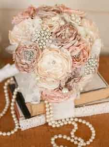 Brooch Bouquets Gaining Popularity - Wholesale Wedding Flowers - Naperville, Downers Grove, Aurora, Chicago