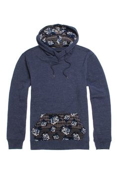 65ce78305999 On The Byas Maurice Printed Pullover Hoodie  pacsun Modern Mens Fashion