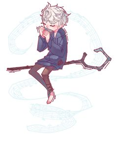 a transparent jack frost playing the harmonica just for you (◡‿◡✿) i'm working on the other guardians and i am open to any and all advice for what to do with the backgrounds !!
