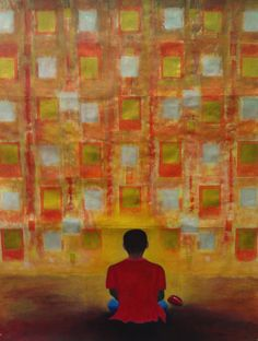Space, Graduated show 2012, Sydney Gallery School, Meadowbank, 90X120cm