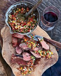 Mixed Grill with Fresh Tomato-and-Pepper Salsa | Food & Wine