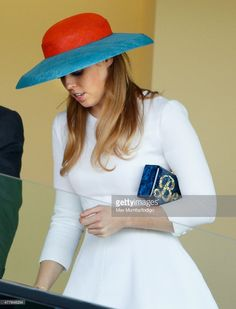 Princess Beatrice carries a personalised 'Bea' clutch bag as she attends day 3, Ladies Day, of Royal Ascot at Ascot Racecourse on June 18, 2015 in Ascot, England. (Photo by Max Mumby/Indigo/Getty Images)