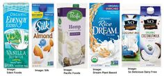 Dairy-Free Vegan Milk Brands Review Vegan Milk, Soy Milk, Silk Image, Turmeric Drink, Milk Brands, Milk Alternatives, Coconut Milk, Dairy Free, Almond