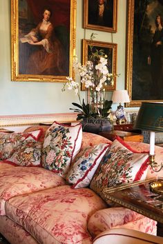 South Drawing Room, Althorp House, Northamptonshire, England, UK » Spencer of…