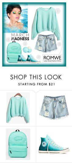 """Romwe"" by veronica7777 ❤ liked on Polyvore featuring Chicnova Fashion, Vans, Converse and River Island"